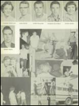 1956 Post High School Yearbook Page 34 & 35
