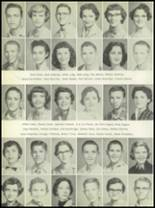 1956 Post High School Yearbook Page 44 & 45
