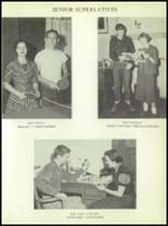 1956 Post High School Yearbook Page 54 & 55
