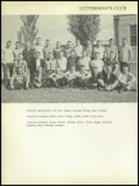1956 Post High School Yearbook Page 90 & 91