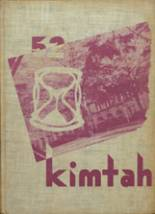 1952 Yearbook West Seattle High School