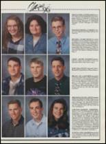 1996 Quapaw High School Yearbook Page 56 & 57