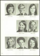 1973 Halls High School Yearbook Page 106 & 107