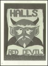 1973 Halls High School Yearbook Page 186 & 187