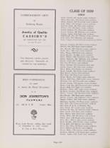 1939 McKinley High School Yearbook Page 244 & 245