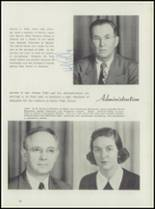 1952 Leavenworth High School Yearbook Page 16 & 17