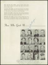 1952 Leavenworth High School Yearbook Page 18 & 19