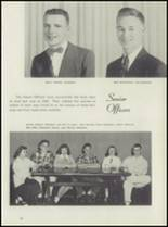 1952 Leavenworth High School Yearbook Page 20 & 21