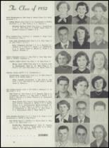 1952 Leavenworth High School Yearbook Page 22 & 23