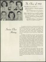1952 Leavenworth High School Yearbook Page 32 & 33