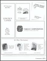 1990 Danville High School Yearbook Page 216 & 217