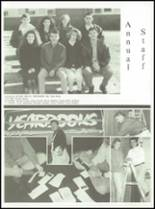 1992 Genoa Central High School Yearbook Page 92 & 93