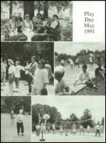 1992 Genoa Central High School Yearbook Page 122 & 123