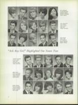 1967 Foreman High School Yearbook Page 50 & 51