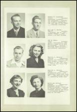1950 Marysville-Rye High School Yearbook Page 18 & 19