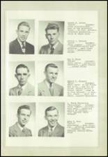 1950 Marysville-Rye High School Yearbook Page 20 & 21