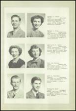 1950 Marysville-Rye High School Yearbook Page 22 & 23