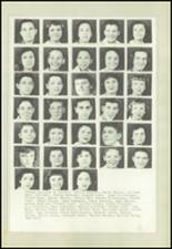1950 Marysville-Rye High School Yearbook Page 38 & 39