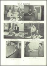 1957 Edward Little High School Yearbook Page 26 & 27