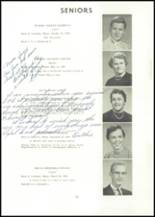 1957 Edward Little High School Yearbook Page 38 & 39