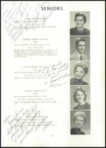 1957 Edward Little High School Yearbook Page 42 & 43