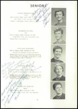 1957 Edward Little High School Yearbook Page 48 & 49