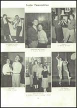 1957 Edward Little High School Yearbook Page 78 & 79