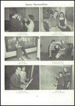 1957 Edward Little High School Yearbook Page 80 & 81