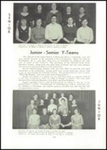 1957 Edward Little High School Yearbook Page 108 & 109