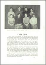 1957 Edward Little High School Yearbook Page 110 & 111