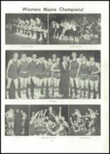 1957 Edward Little High School Yearbook Page 120 & 121