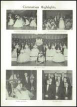 1957 Edward Little High School Yearbook Page 130 & 131