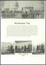 1957 Edward Little High School Yearbook Page 134 & 135