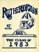 1983 Yearbook Rutherford High School