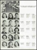 1944 Ursuline High School Yearbook Page 30 & 31