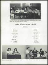 1944 Ursuline High School Yearbook Page 38 & 39
