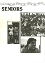 1986 North High School Yearbook Page 22 & 23