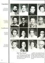 1986 North High School Yearbook Page 108 & 109