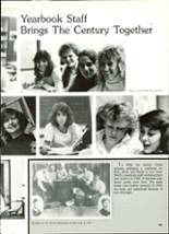 1986 North High School Yearbook Page 112 & 113
