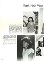 1986 North High School Yearbook Page 214 & 215
