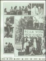 1986 Bella Vista High School Yearbook Page 102 & 103