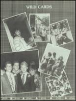 1986 Bella Vista High School Yearbook Page 110 & 111
