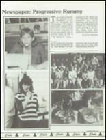 1986 Bella Vista High School Yearbook Page 112 & 113
