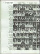 1986 Bella Vista High School Yearbook Page 128 & 129