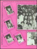 1986 Bella Vista High School Yearbook Page 140 & 141