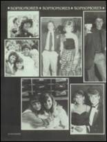 1986 Bella Vista High School Yearbook Page 154 & 155