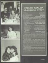 1986 Bella Vista High School Yearbook Page 242 & 243