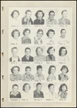 1952 Laura Conner High School Yearbook Page 18 & 19