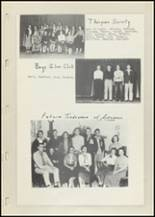 1952 Laura Conner High School Yearbook Page 72 & 73