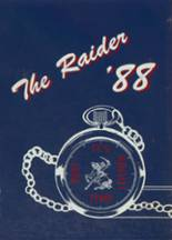 1988 Yearbook Cleveland High School
